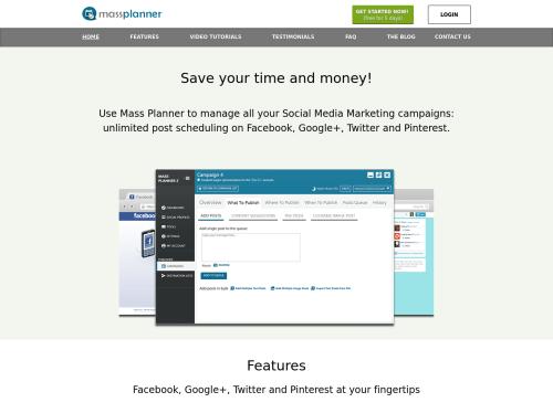 http://www.massplanner.com/ startup