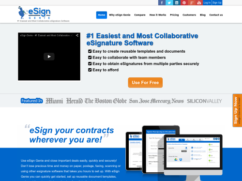 http://www.esigngenie.com startup