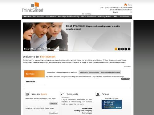 http://thinksmartsoft.com startup