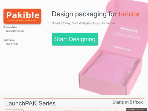 http://www.pakible.com startup