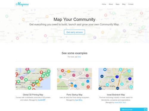 http://mapme.com startup
