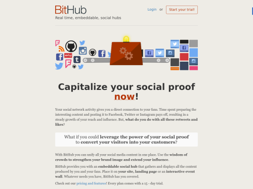http://www.bithub.com startup
