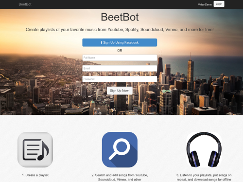 Beetbot: Create playlists from multiple music providers