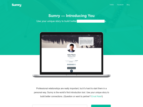 http://sumry.me startup