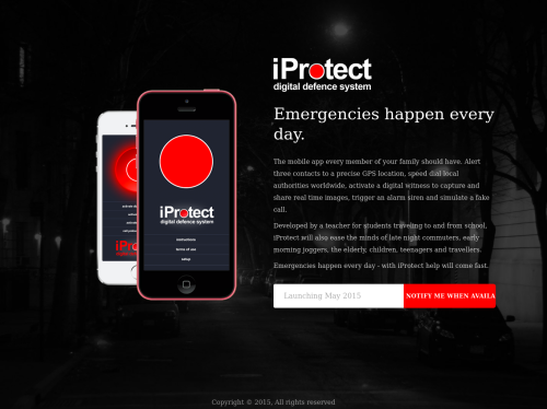 http://iprotectapp.com.au startup