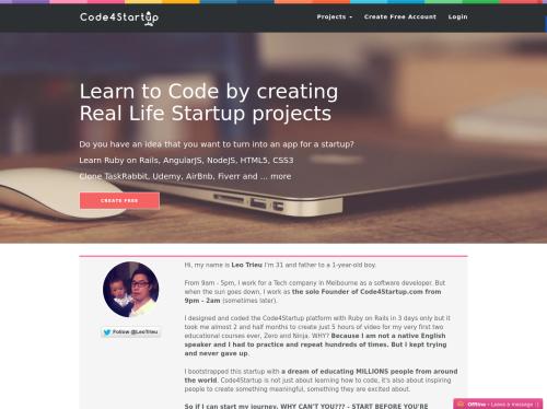 https://code4startup.com startup