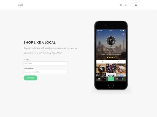 http://shufl.it startup