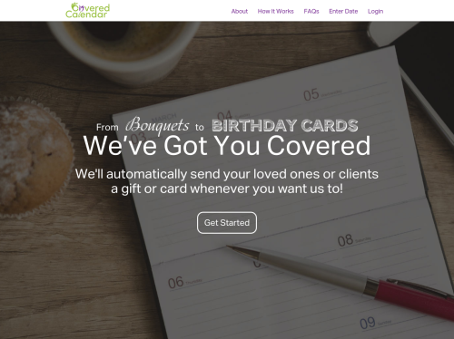Coveredcalendar Sends Gifts And Cards For You