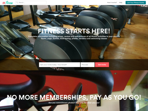 http://www.FitArrow.com startup