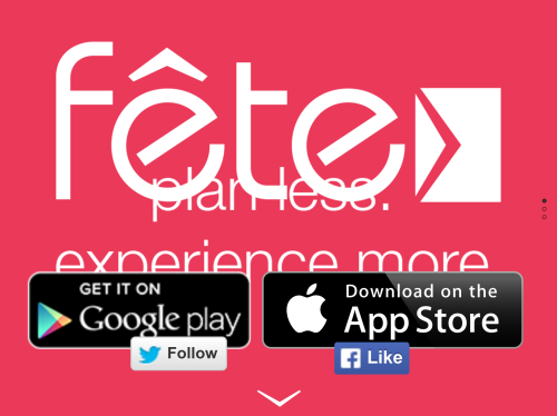Fête Easy As A Text Classy As An Invitation Card