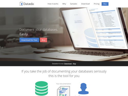 define data dictionary in database