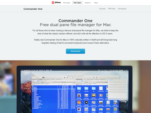 Commander One for Mac: Free dual pane file manager for Mac