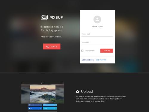 http://pixbuf.com startup
