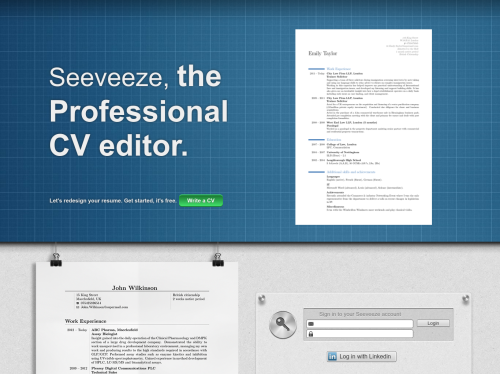 seeveeze the professional cv editor