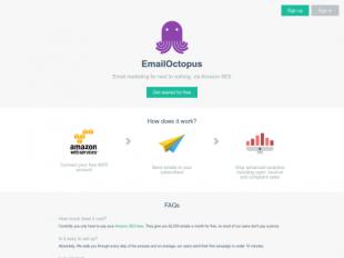 https://emailoctopus.com startup