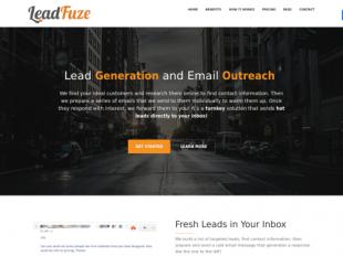 http://www.leadfuze.com startup