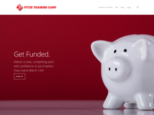 http://www.pitchtrainingcamp.com startup