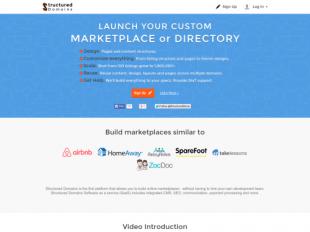 http://structureddomains.com startup