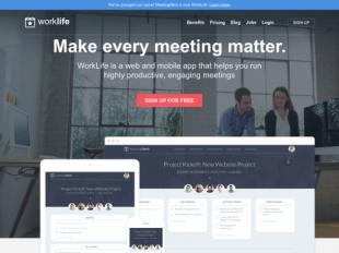 http://www.worklife.com startup