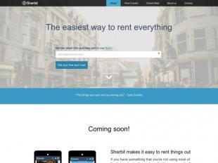 http://sharbit.com startup