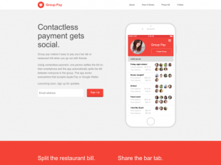 http://www.GroupPay.io startup