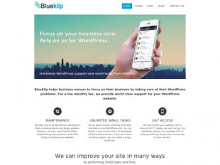 http://blueklip.com startup
