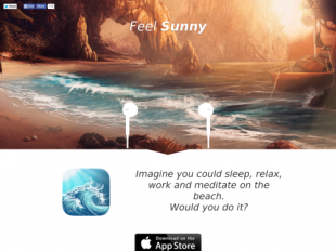 http://getSunnyApp.com startup