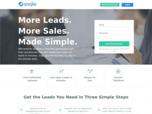 http://www.spyglaz.com/ startup