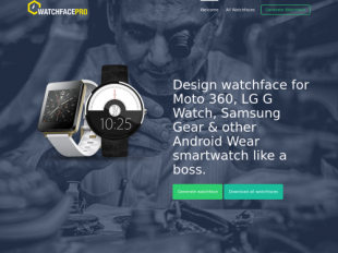 http://www.watchfacepro.com startup