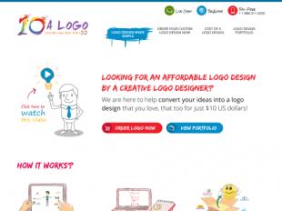 http://www.10alogo.com/ startup