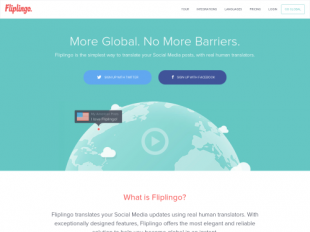 https://www.fliplingo.com startup