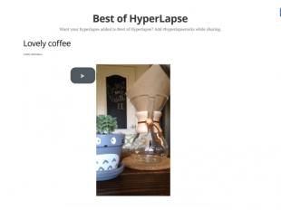 http://hyperlapse.rocks startup