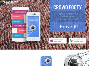 http://crowdfooty.com startup