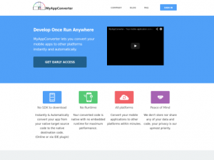 http://www.myappconverter.com startup