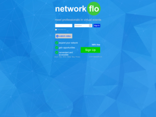 http://www.NetworkFlo.com startup