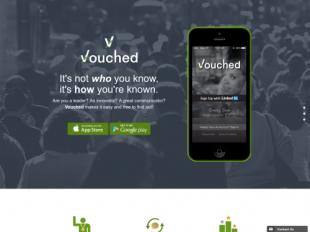http://vouchedapp.com startup