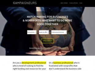 http://campaigneurs.com startup