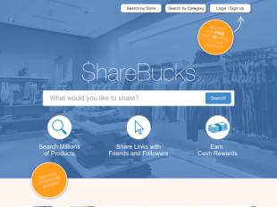 http://www.sharebucks.com startup