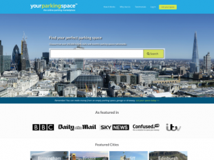 http://www.yourparkingspace.co.uk/ startup