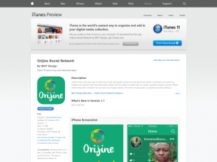 https://itunes.apple.com/gb/app/orijine-social-network/id905034430?mt=8 startup